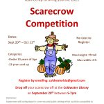 2021 Scarecrow Competition